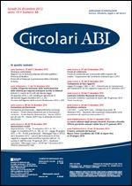 Immagine di Circolari ABI n. 48 del 24 dicembre 2012
