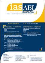 Immagine di Ias ABI BlueBook n. 65 del 18 gennaio 2013
