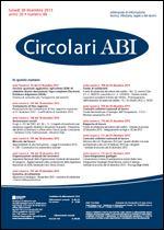 Immagine di Circolari ABI n. 48 del 30 dicembre 2013