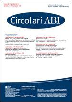 Immagine di Circolari ABI n. 13 del 7 aprile 2014
