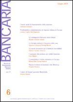 Immagine di Bancaria n. 6/2014