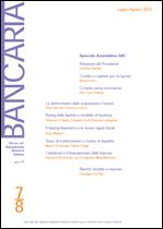 Immagine di Bancaria n. 7-8/2014
