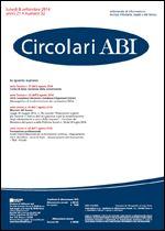 Immagine di Circolari ABI n. 32 dell'8 settembre 2014