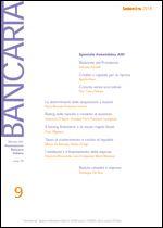 Immagine di Bancaria n. 9/2014