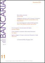 Immagine di Bancaria n. 11/2014