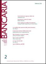 Immagine di Bancaria n. 2/2015