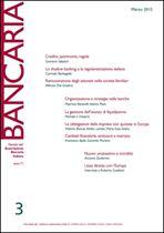 Immagine di Bancaria n. 3/2015