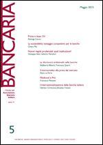 Immagine di Bancaria n. 5/2015