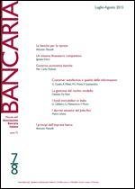 Immagine di Bancaria n. 7-8/2015