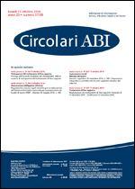 Immagine di Circolari ABI n.37-38 del 17 ottobre 2016