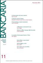 Immagine di Bancaria n. 11/2016
