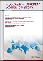 Immagine di The Journal of European Economic History - 2016 issue 2