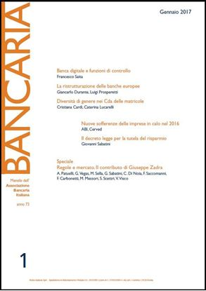 Immagine di Bancaria n. 1/2017