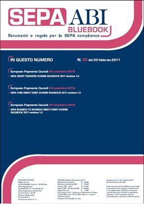 Immagine di SEPA ABI BlueBook N. 33 del 20 febbraio 2017