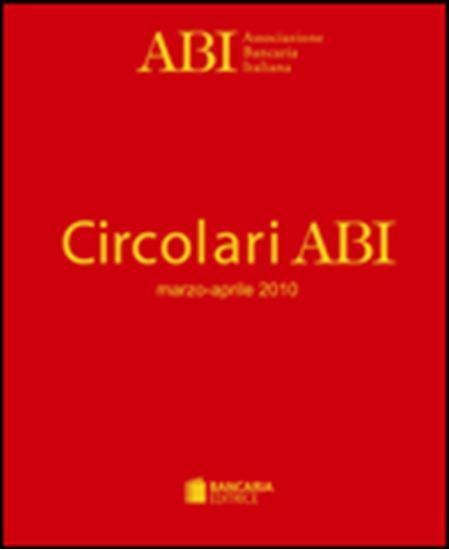 Immagine di Circolari ABI Rilegate Abbonamento 2017