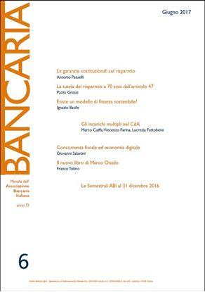 Immagine di Bancaria n. 6/2017
