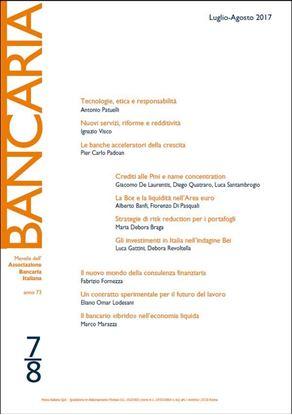 Immagine di Bancaria n. 7-8/2017
