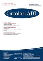 Immagine di Circolari ABI n.36-37-38 del 16 ottobre 2017