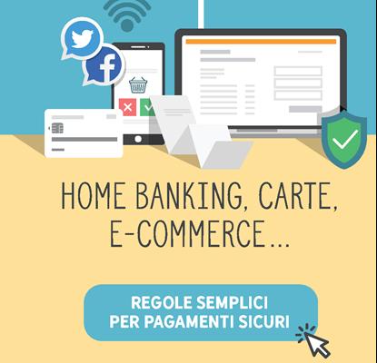 "Immagine di Campagna ""Home banking, carte, e-commerce"""