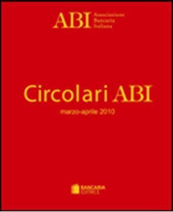 Immagine di Circolari ABI Rilegate Abbonamento 2018