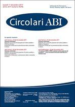Immagine di Circolari ABI n.45-46 dell'11 dicembre 2017