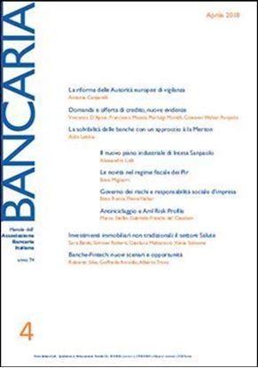 Immagine di Bancaria n. 4/2018