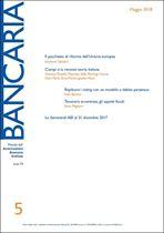 Immagine di Bancaria n. 5/2018
