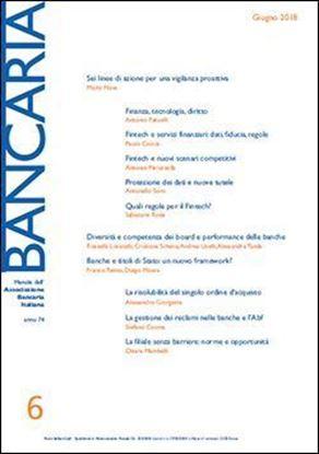 Immagine di Bancaria n. 6/2018