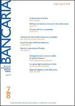 Immagine di Bancaria n. 7-8/2018