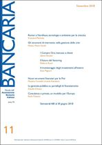 Immagine di Bancaria n. 11/2018