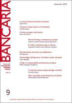 Immagine di Bancaria n. 9/2019