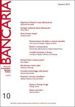 Immagine di Bancaria n. 10/2019