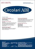 Immagine di Circolari ABI n. 17-18 dell'11 maggio 2020