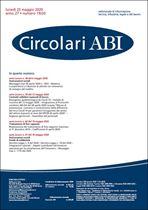 Immagine di Circolari ABI n. 19-20 del 25 maggio 2020