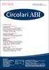 Immagine di Circolari ABI n. 8-9 del 1° marzo 2021