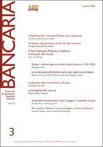 Immagine di Bancaria n. 3/2021